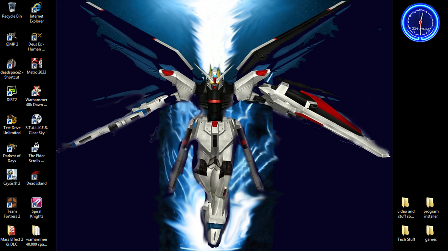 Freedom Gundam Wallpaper - WallpaperSafari