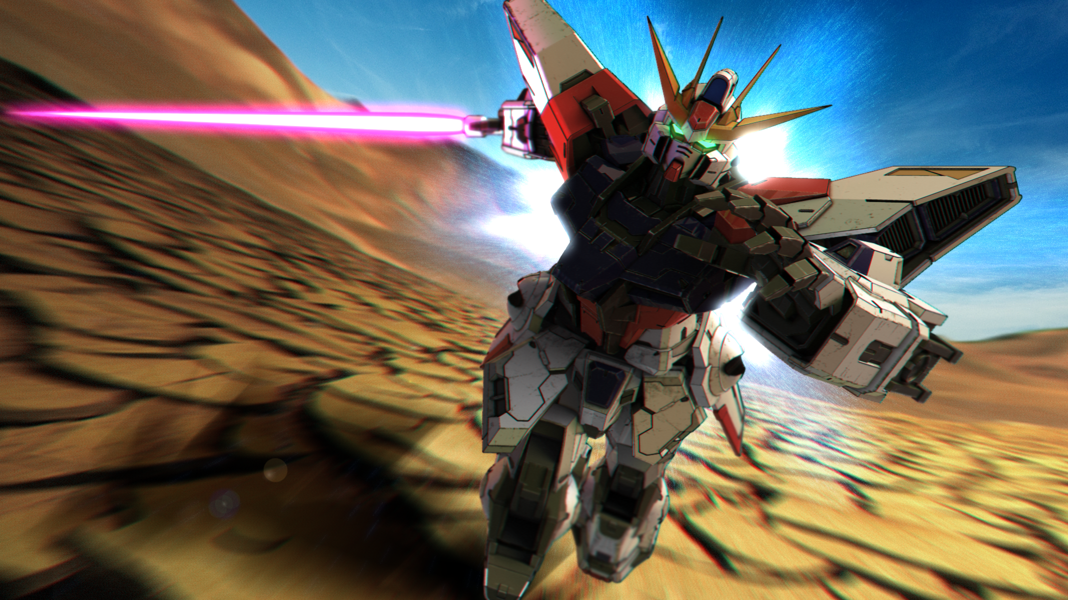 DeviantArt: More Like BG-011B Build Burning Gundam Wallpaper by