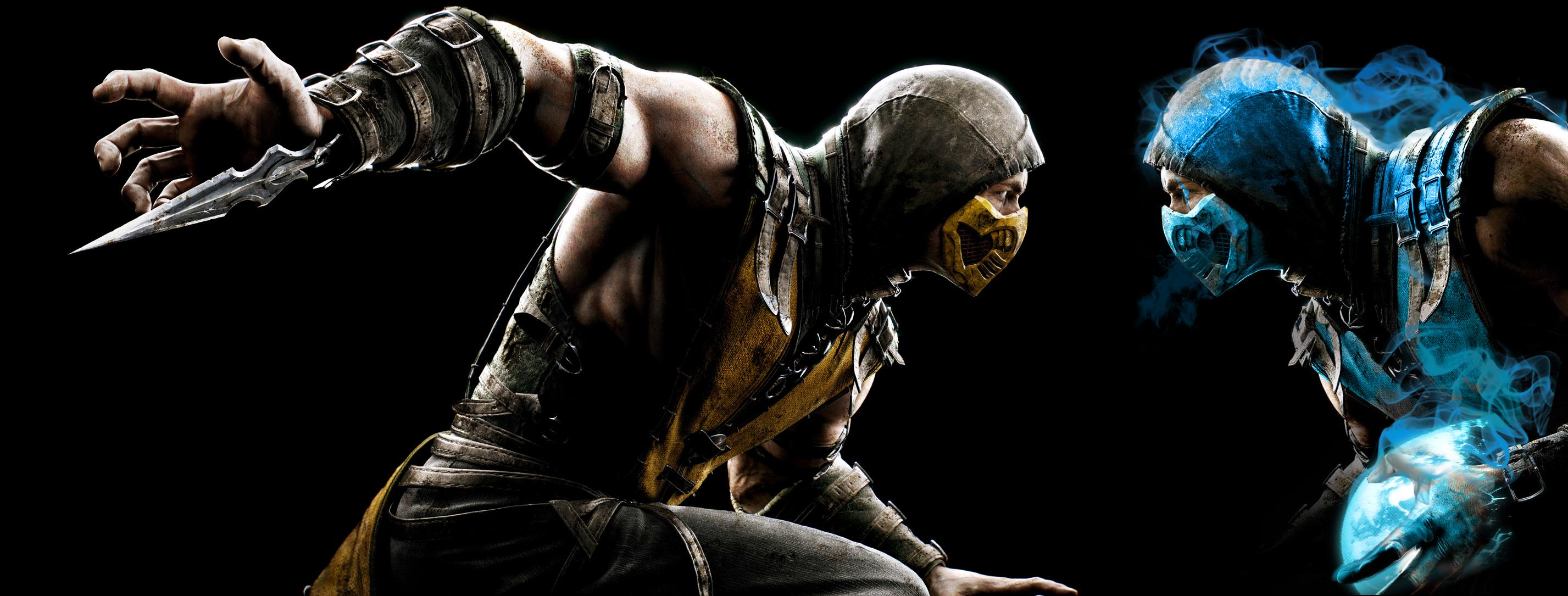 Sub Zero Vs Scorpion Wallpaper Sf Wallpaper
