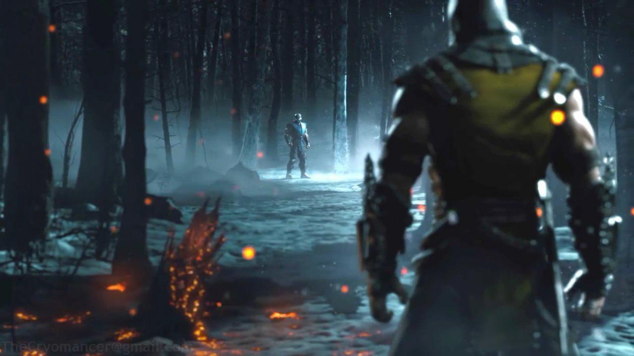 DeviantArt More Like Mortal Kombat X Wallpaper Scorpion Vs Sub