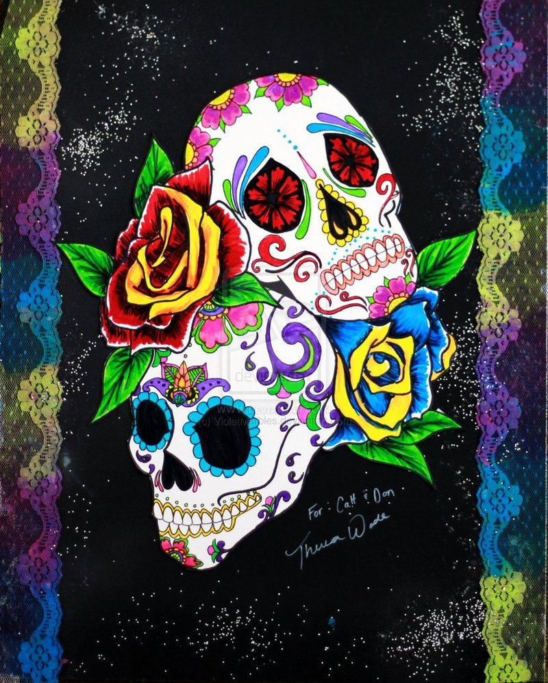 HD Sugar Skull Wallpaper