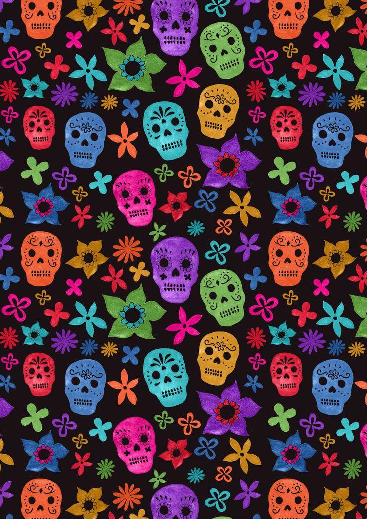 Sugar Skull Wallpaper For IPhone