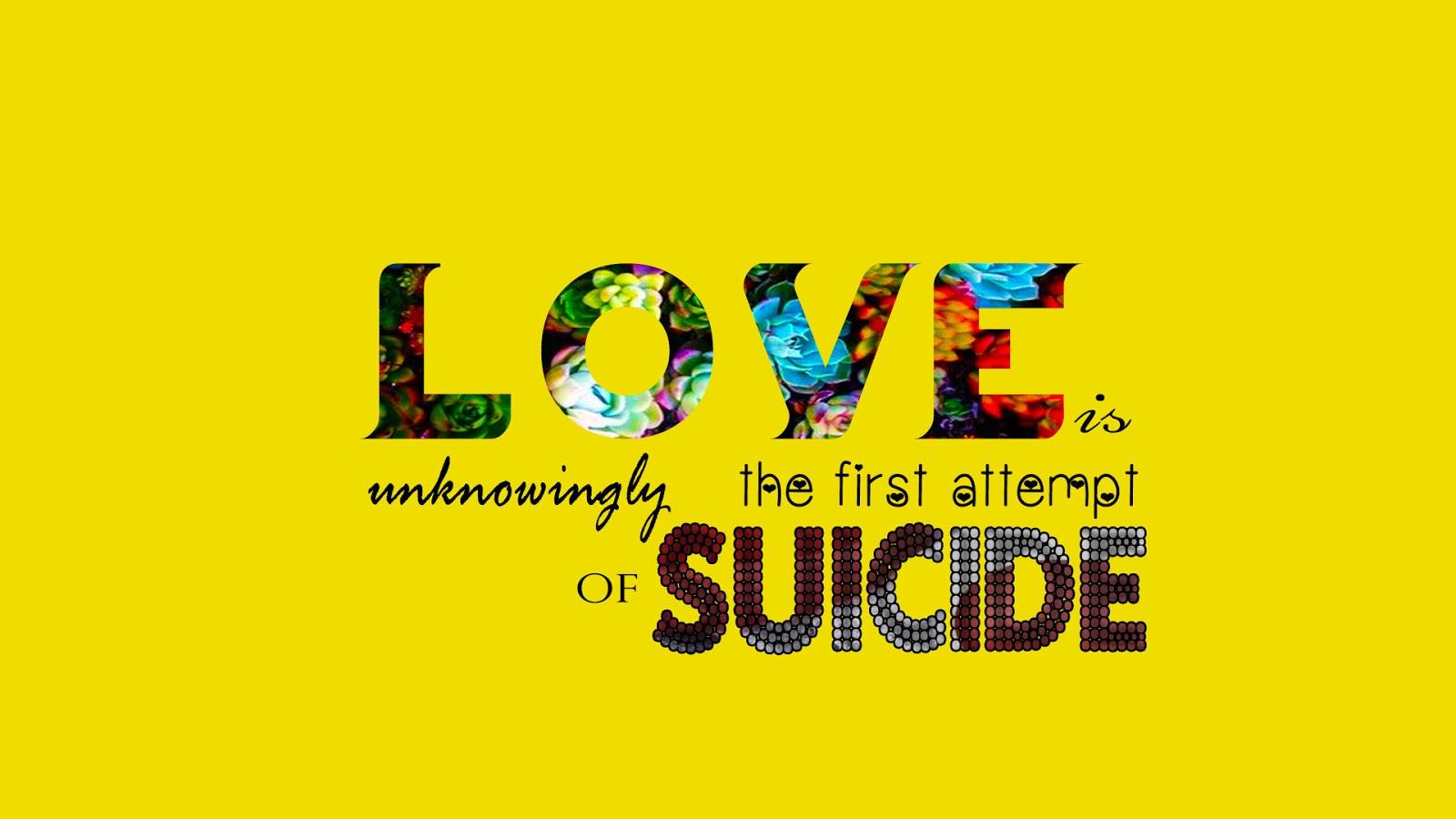suicide wallpapers - sf wallpaper