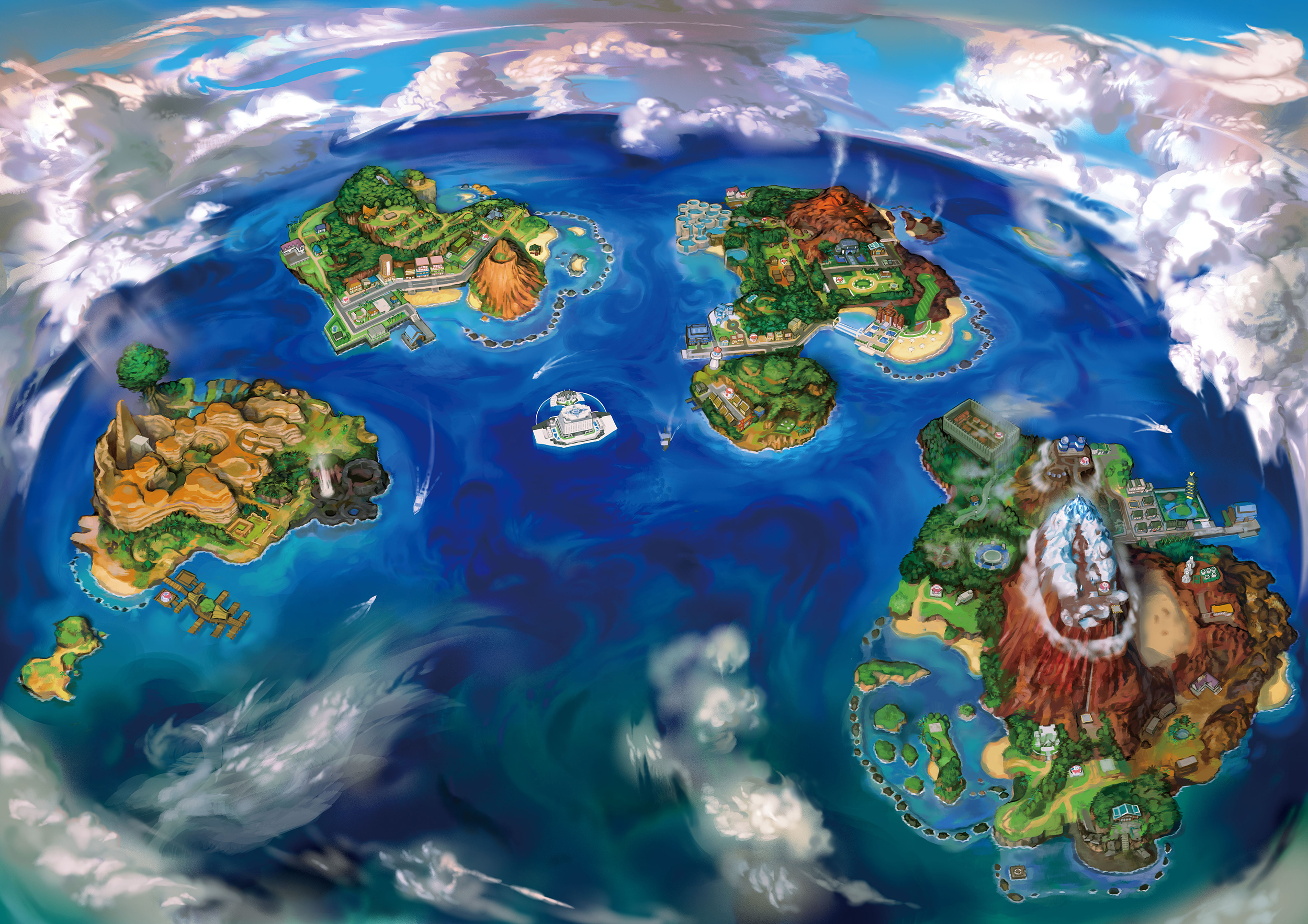 59 Pokémon Sun And Moon HD Wallpapers | Backgrounds - Wallpaper Abyss