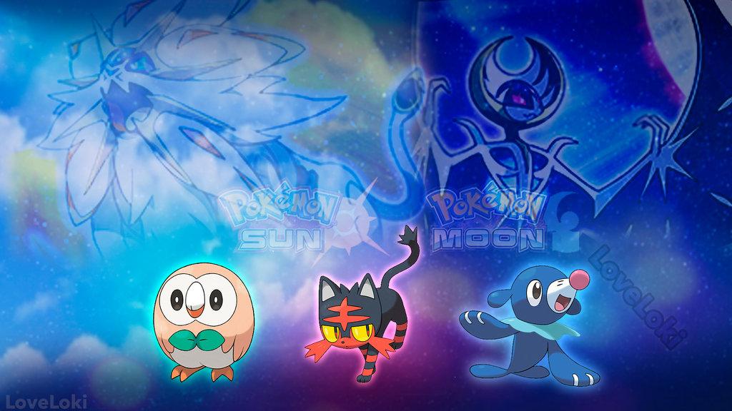 Pokemon Sun and Moon Wallpaper - WallpaperSafari