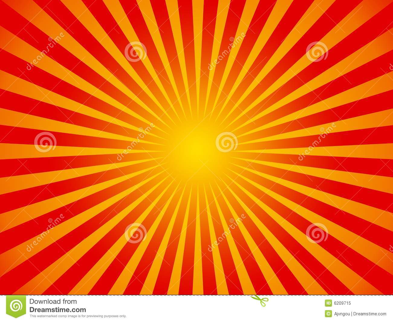 Hot Sun Stripes Background Royalty Free Stock Images - Image: 7485019