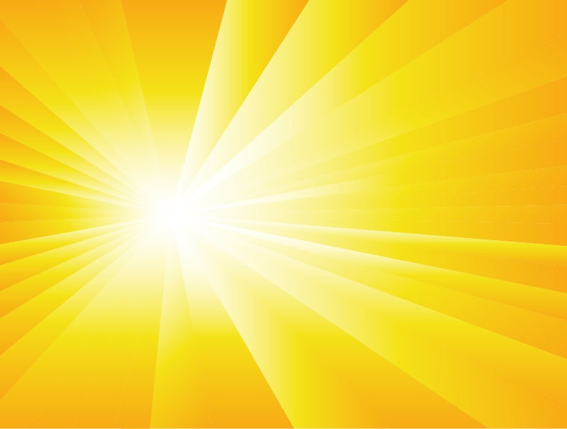 Summer Background with Sun Burst | Free Vector Graphics | All Free