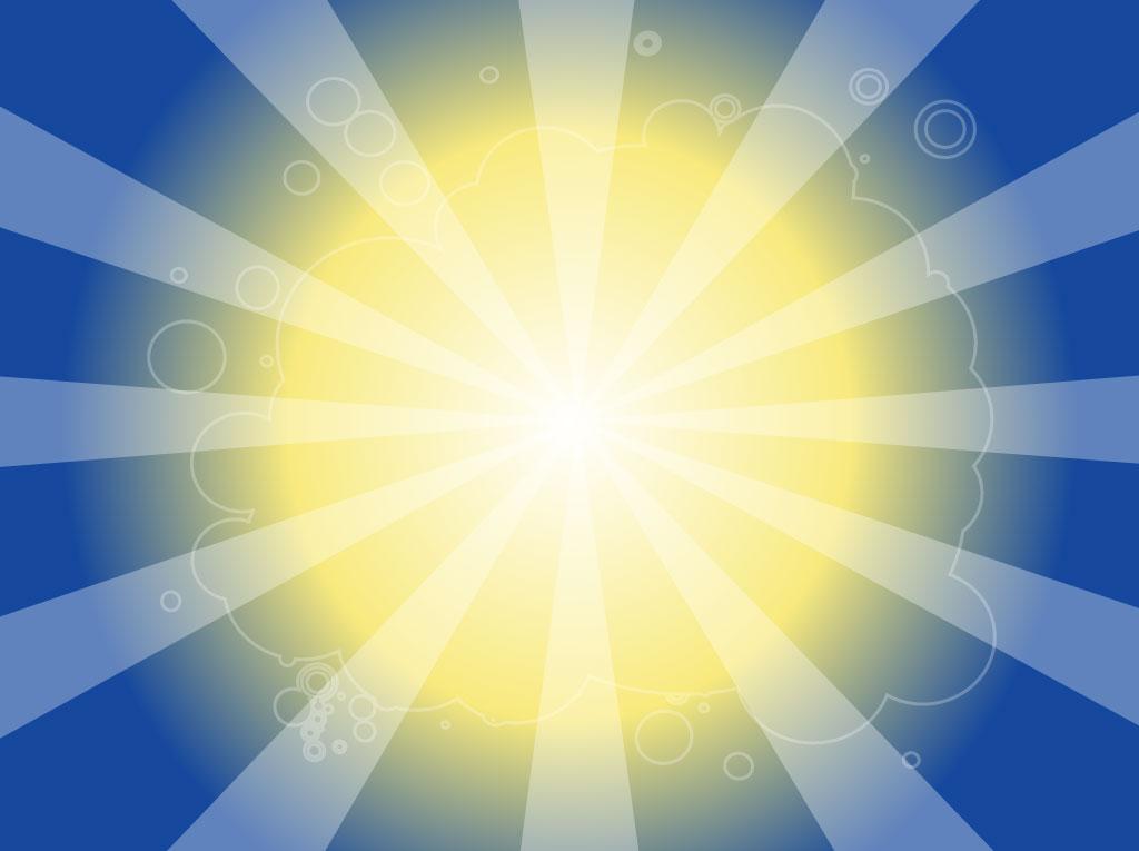 Vibrant Sun Background