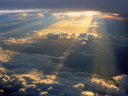 Sun Rays Wallpaper - Sky & Nature Background Wallpapers on Desktop