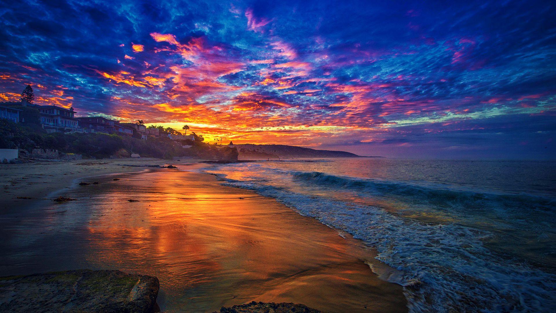 Cool Wallpaper Mountain Sunrise - sunrise-beach-wallpaper-16  Pictures_845994.jpg