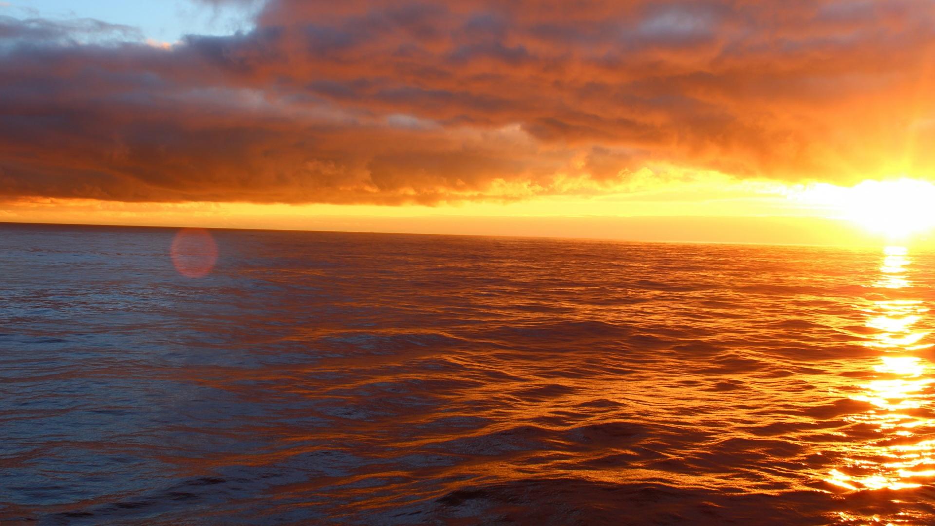 Sunset Ocean Wallpaper Sf Wallpaper