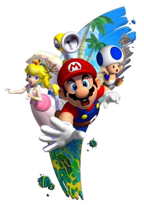 Super Mario Sunshine Wallpaper Sf Wallpaper