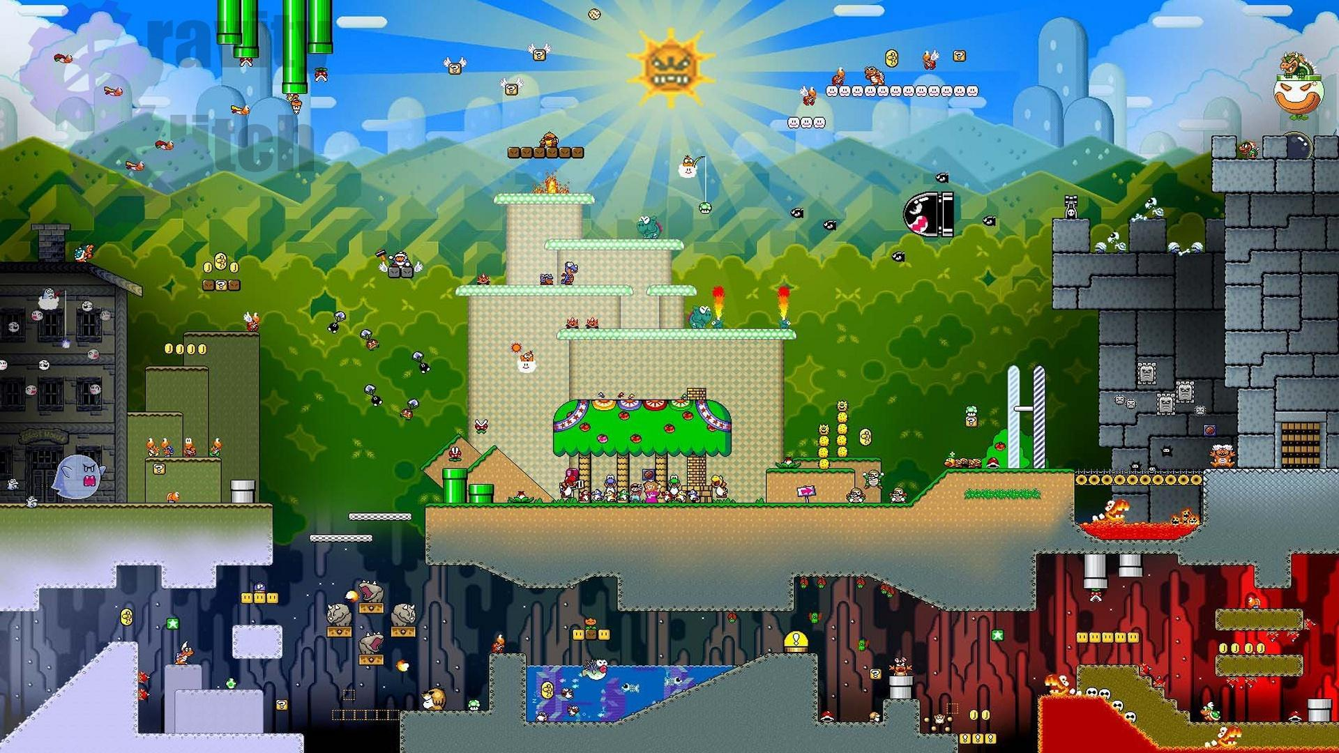 Super mario world wallpaper sf wallpaper super mario hd wallpapers group 86 gumiabroncs Images
