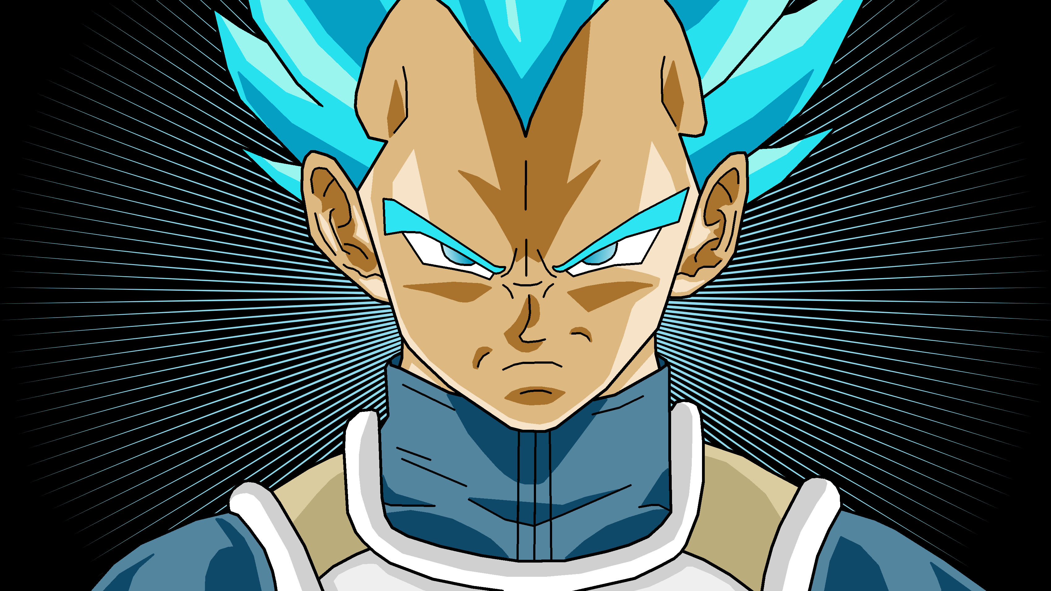 super saiyan vegeta wallpaper - sf wallpaper