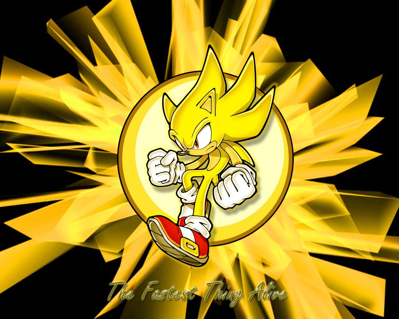 Super Sonic The Hedgehog Wallpaper Sf Wallpaper