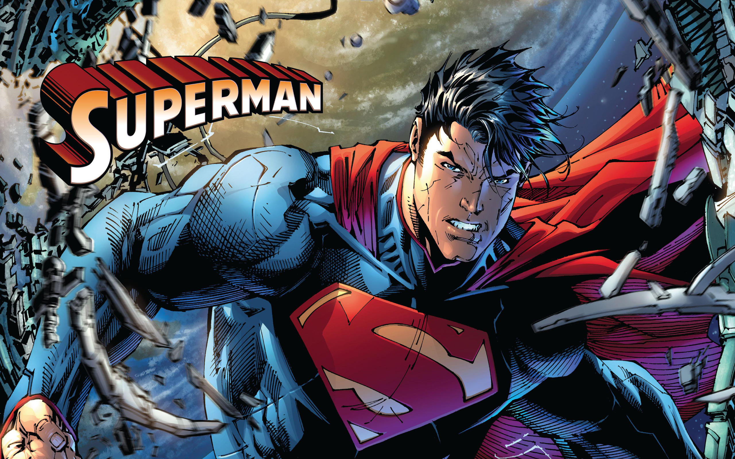 Superman Comic Wallpaper High Quality Resolution - Wickedsa com