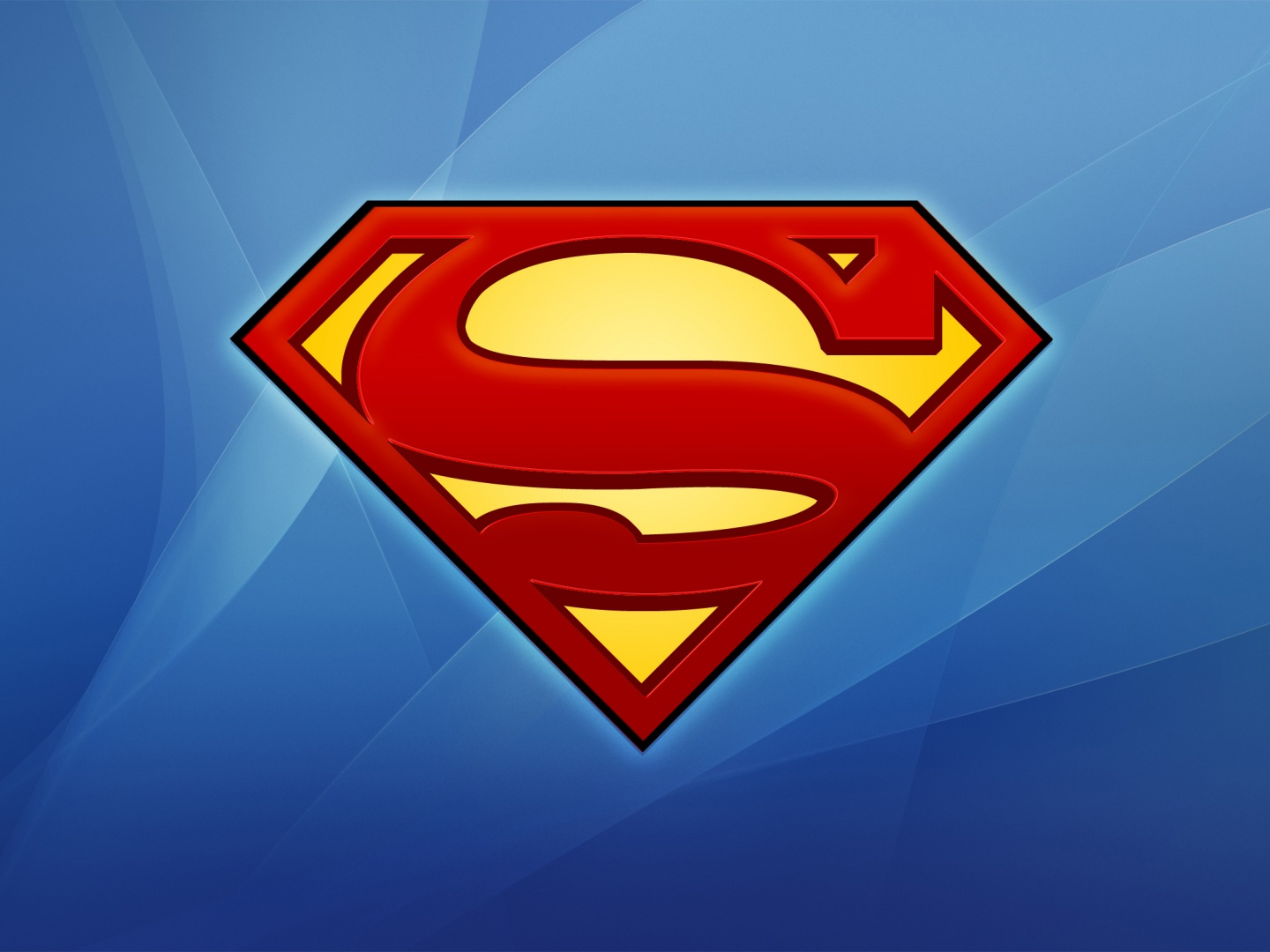 Superman Logo Wallpaper Desktop - WallpaperSafari