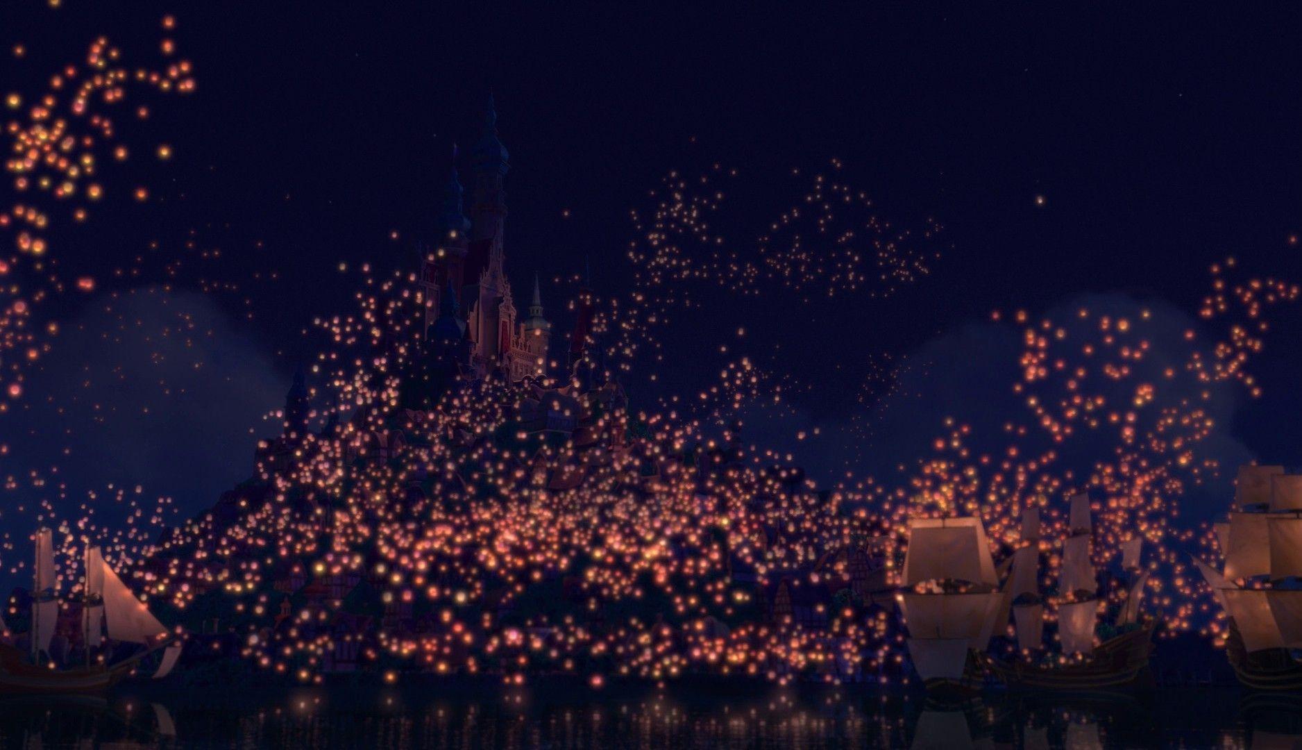 Fantastic Wallpaper Night Lantern - tangled-lanterns-wallpaper-1  Trends-502617.jpg