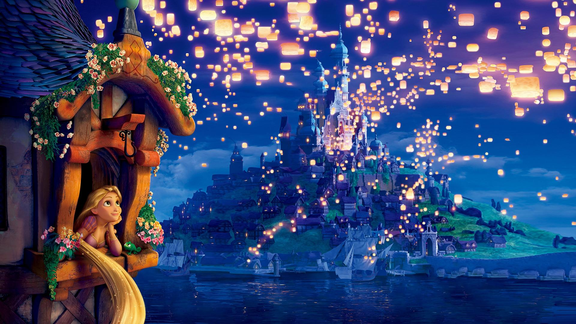 Tangled Hd Images 720p Hd Tangled I See The Light Complete Lantern