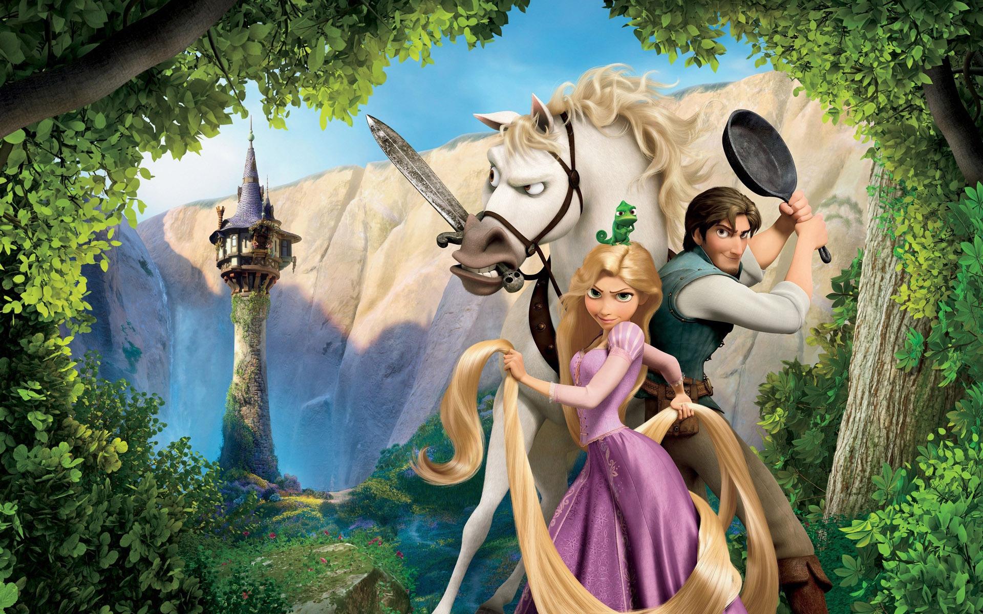 Tangled Disney Wallpaper - WallpaperSafari