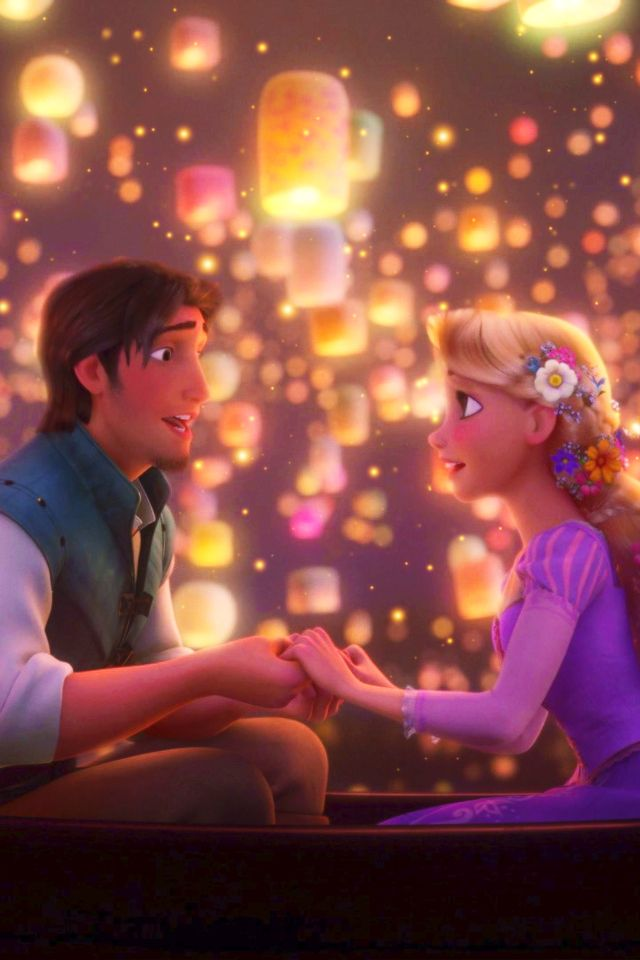 1000 Ide Tentang Disney Wallpaper Tangled Di Pinterest