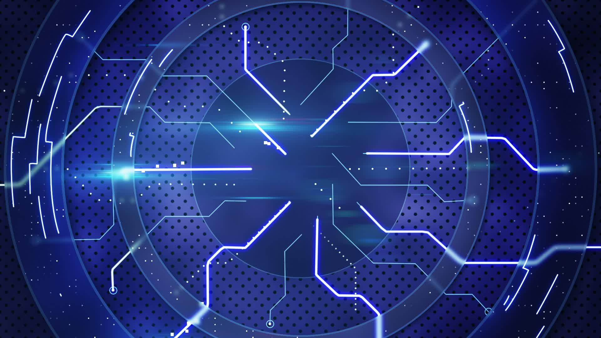network upgrade. eye design on circuit wallpaper vector graphic ...