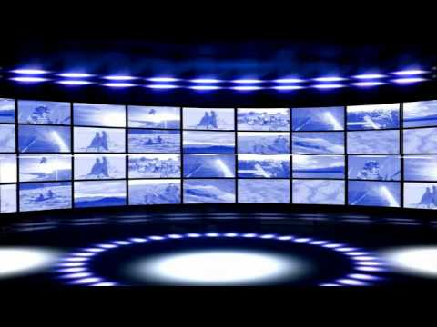 Virtual TV News Studio Backgrounds Bradley Tv2