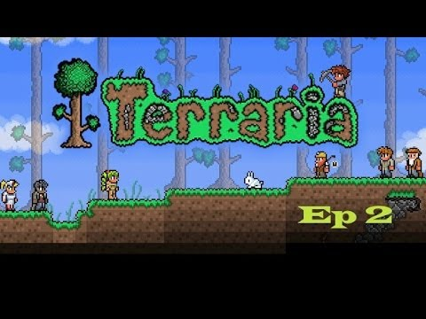 Terraria Multiplayer | Ep2 | Rainbow Wallpaper - YouTube