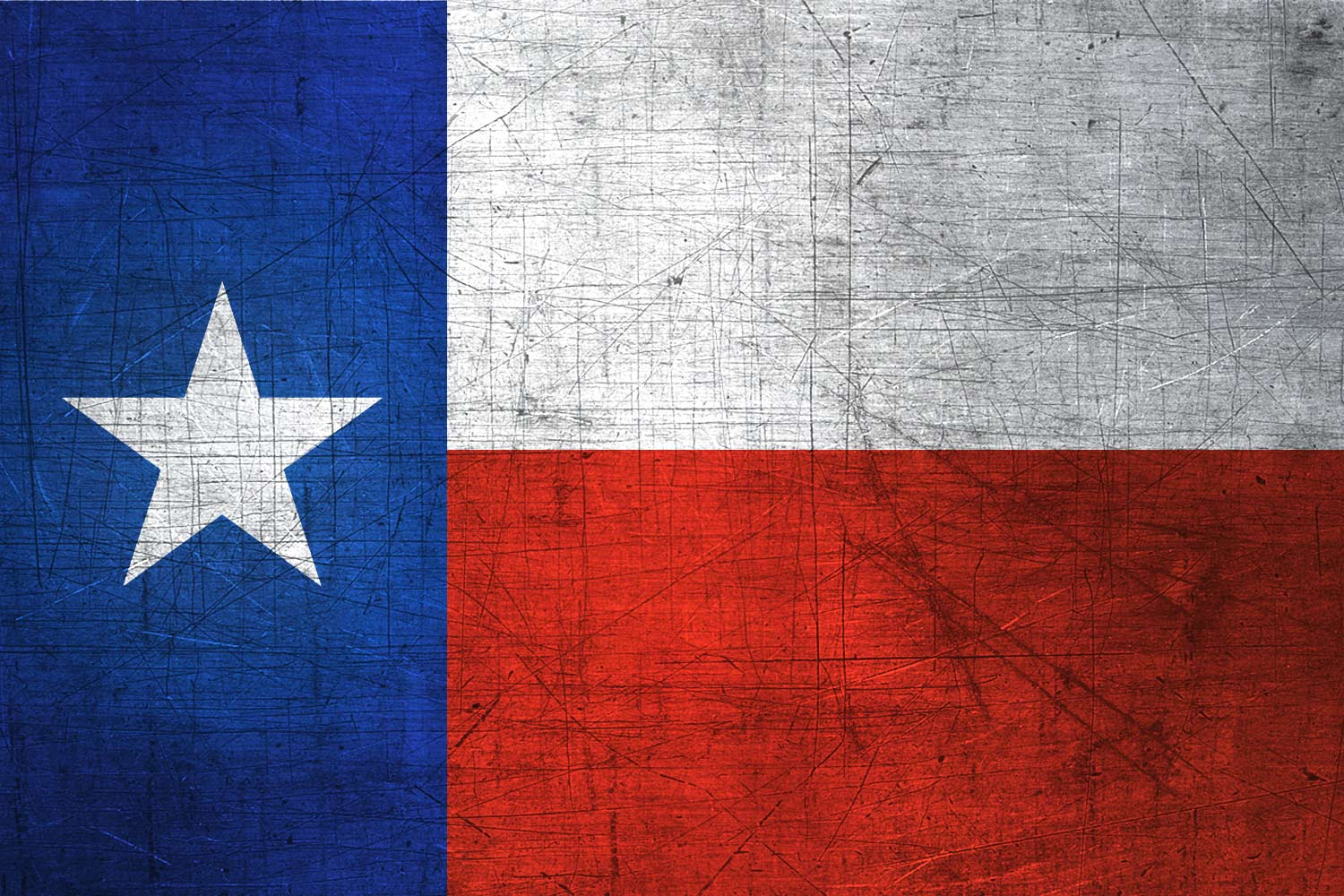 Texan Flag Metal (Flag of Texas) - Download it for free