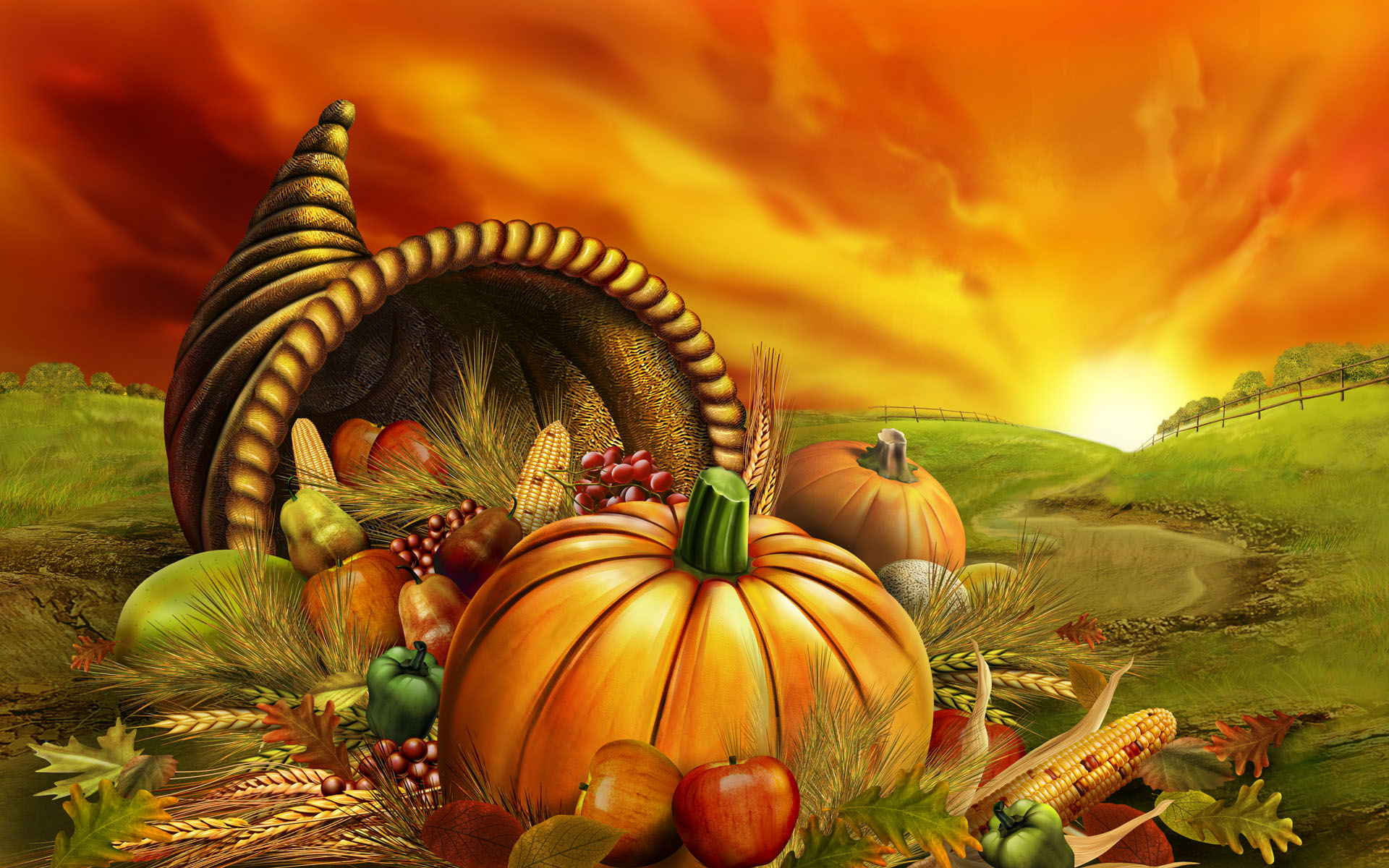 Thanksgiving Desktop Wallpapers Group (72+)