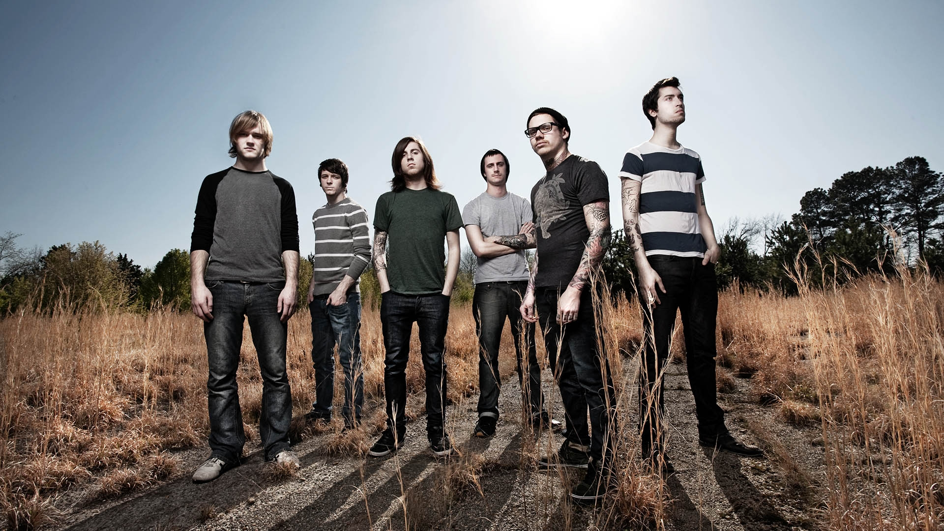 Wallpaper The devil wears prada, Field, Sky, Sunlight, Band HD