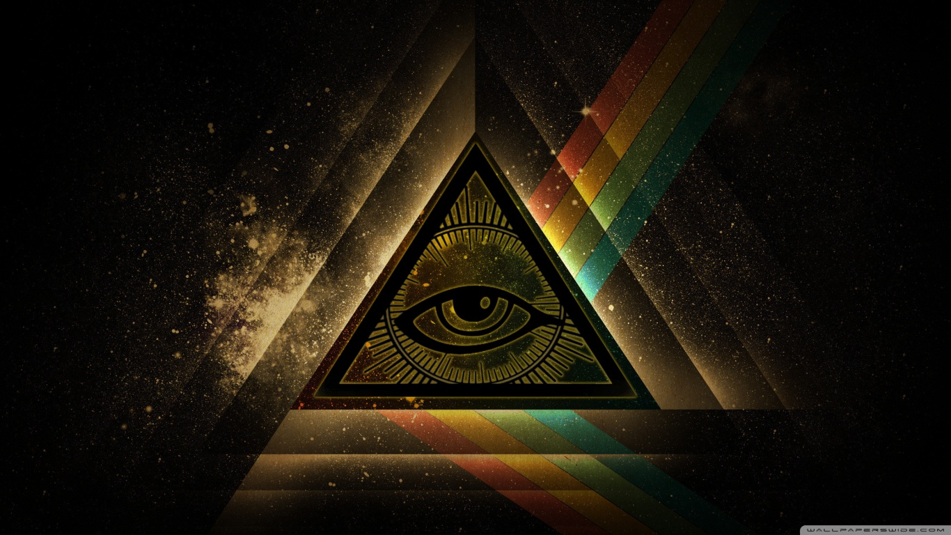 All Seeing Eye HD desktop wallpaper : High Definition : Fullscreen