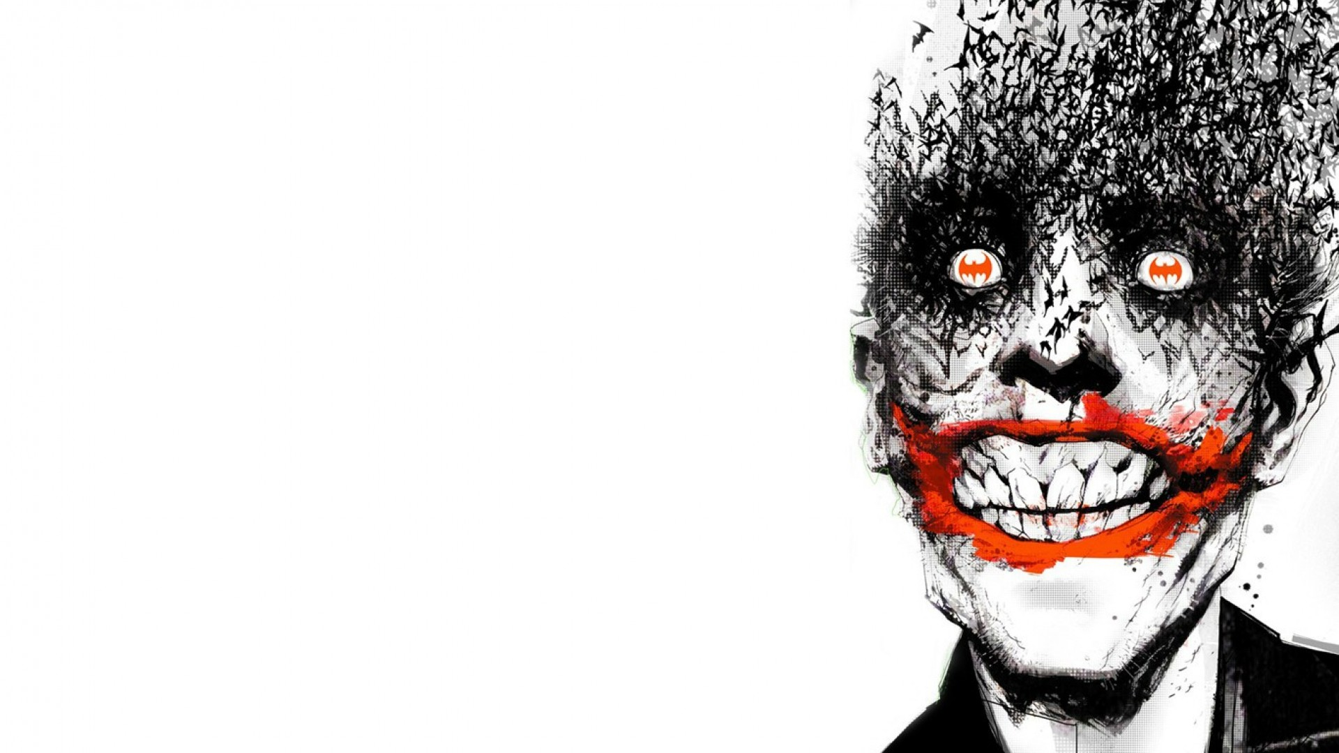 nice Batman the joker comic wallpaper | Other Wallpapers