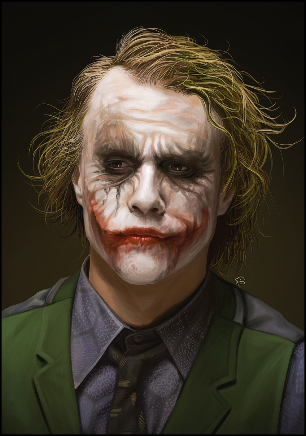 Heath Ledger Joker Wallpaper - wallpaper