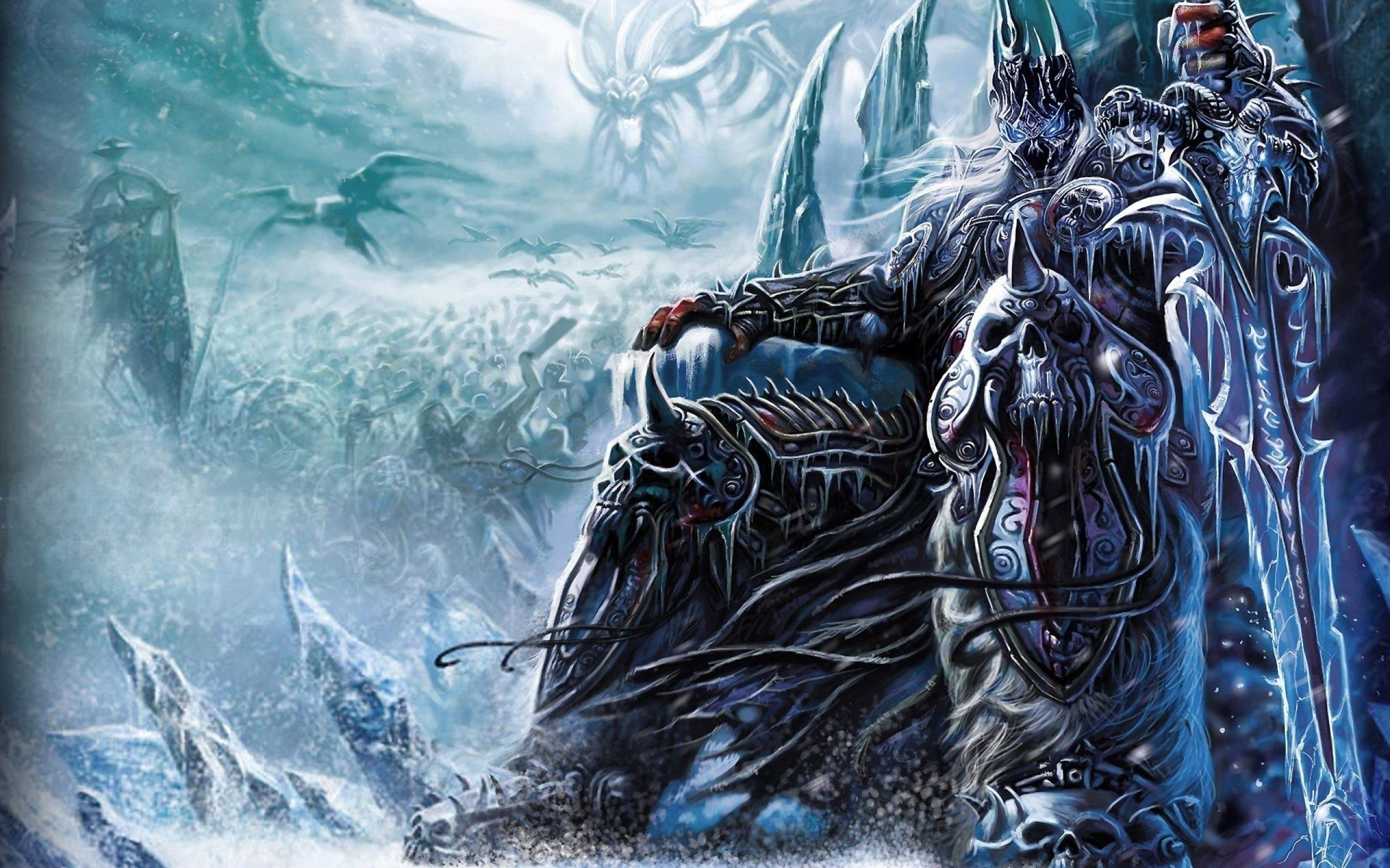 Find out: World Of Warcraft Wrath of The Lich King wallpaper on
