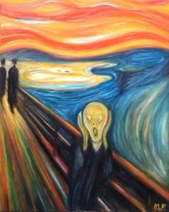 The Scream Wallpaper Sf Wallpaper