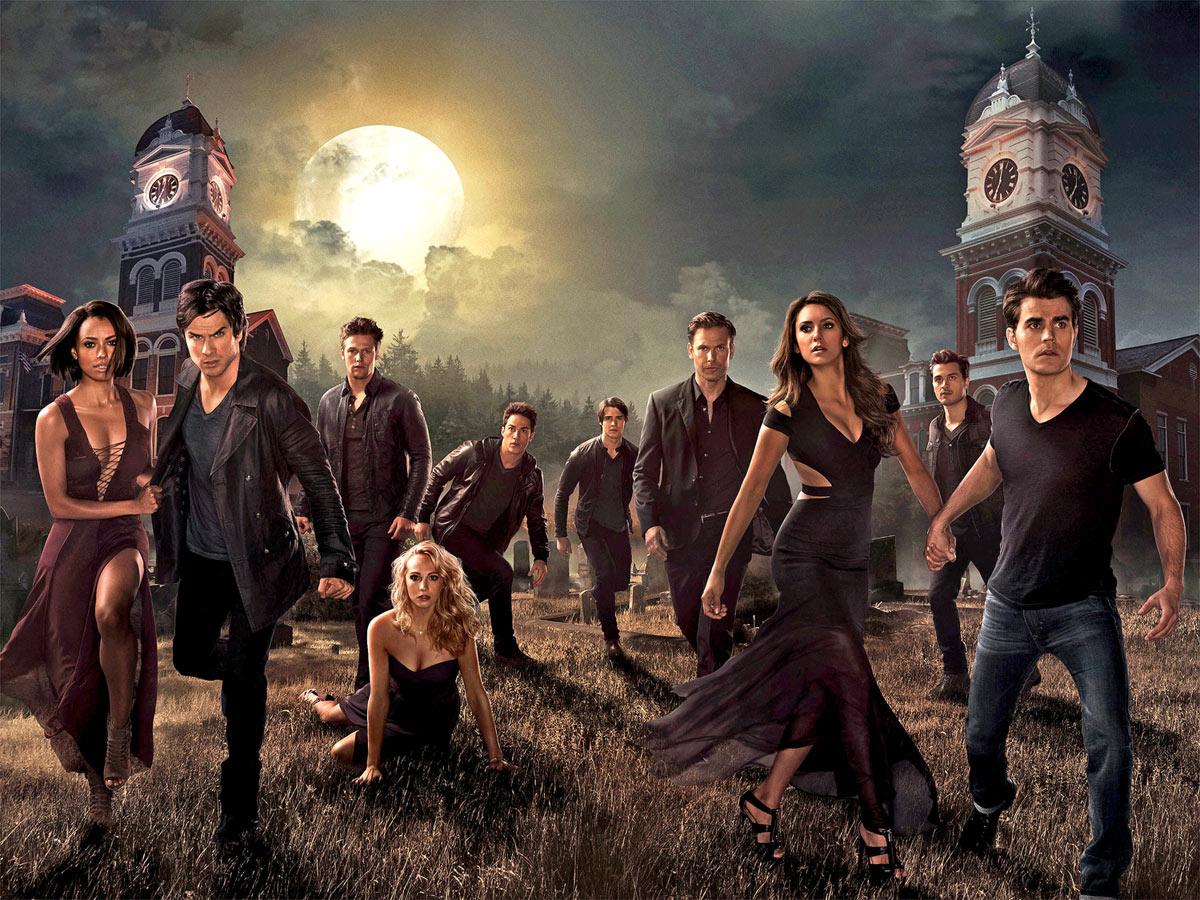 EF:77 - The Vampire Diaries Wallpaper, The Vampire Diaries HD