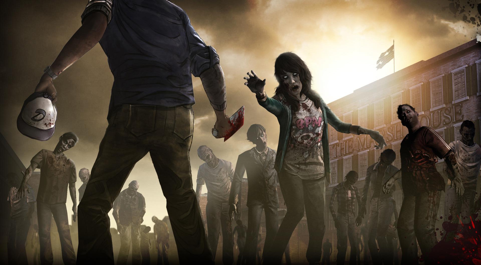 The Walking Dead iPhone Wallpaper - WallpaperSafari