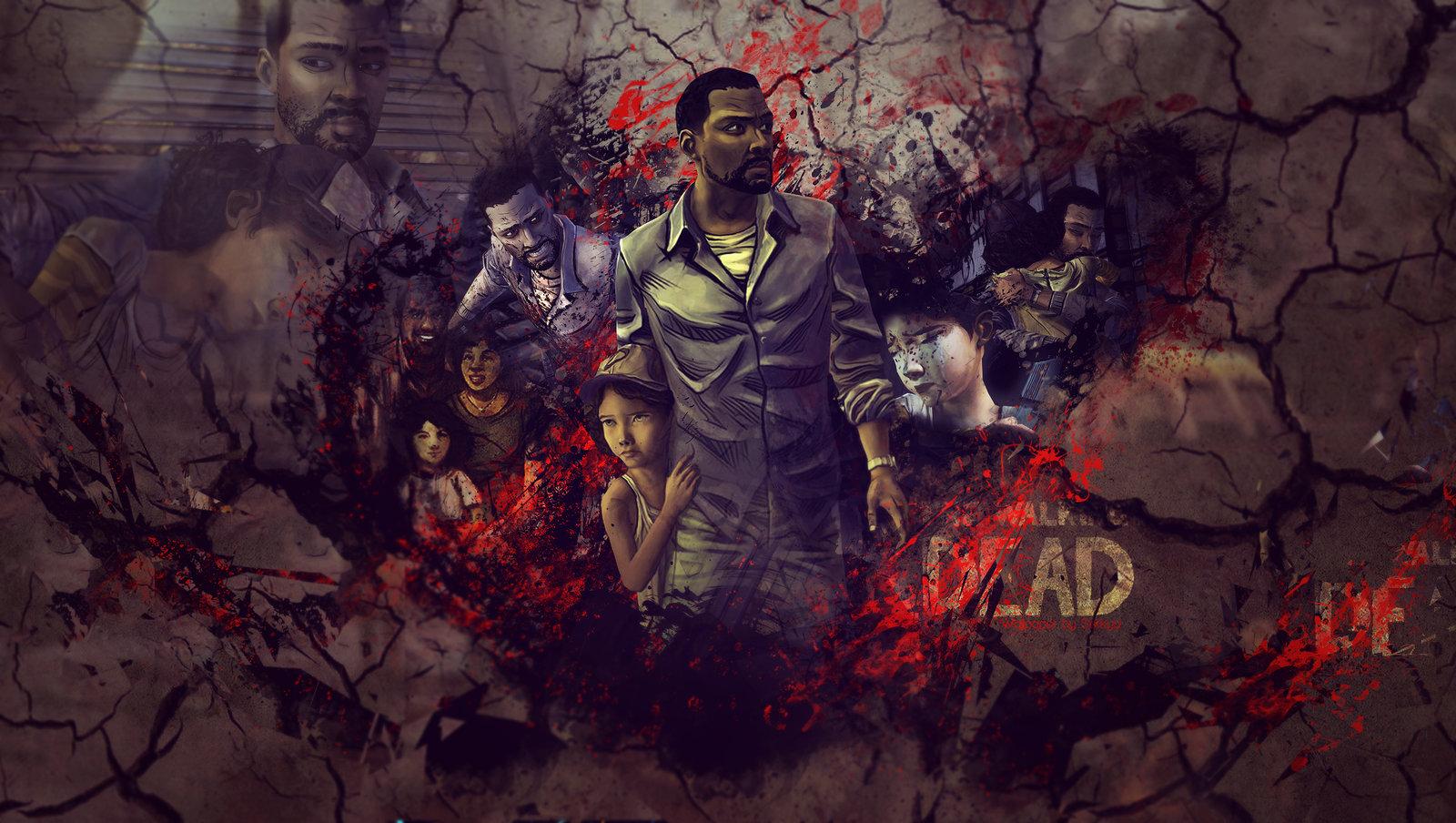 The Walking Dead Game Wallpaper