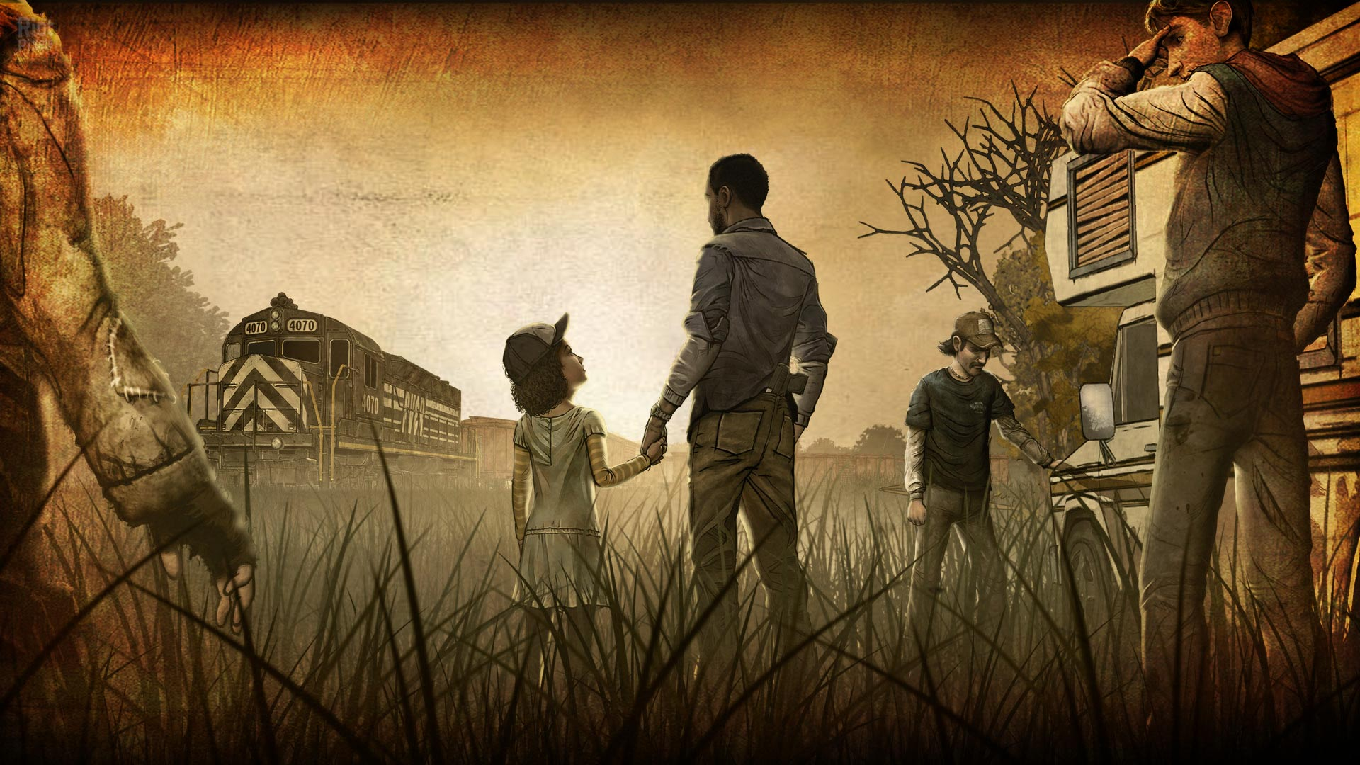 The Walking Dead Game Wallpapers Group 62