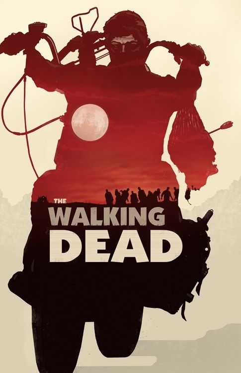 The Walking Dead – Daryl Dixon HD iPhone Wallpaper >>> Click for