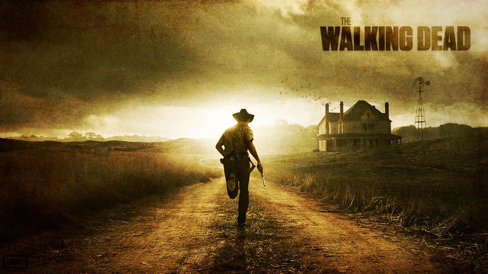 DeviantArt: More Like The Walking Dead Wallpaper by skywalkerdesign