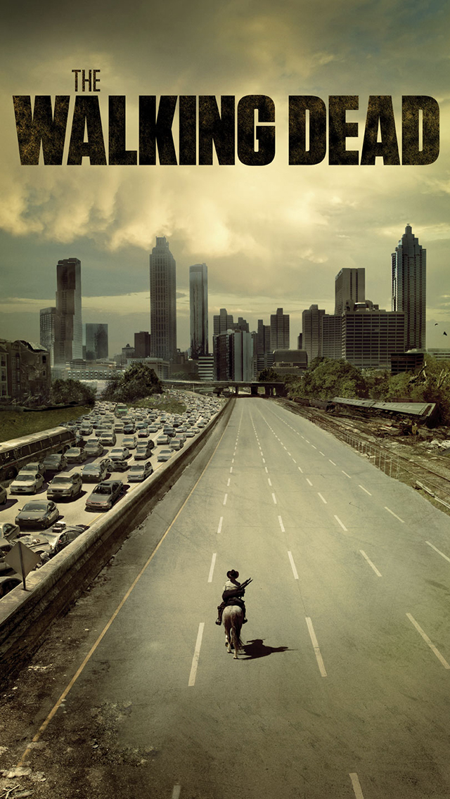 The Walking Dead iPhone 5 Wallpapers