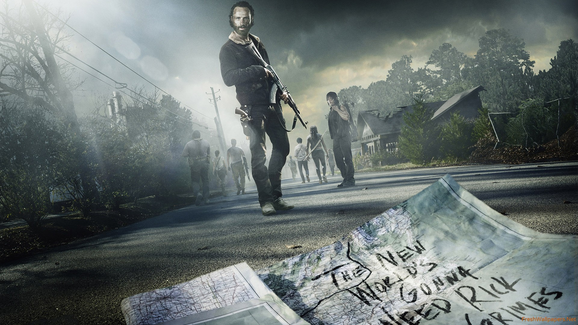 The Walking Dead Season 5 Midseason wallpapers | Freshwallpapers