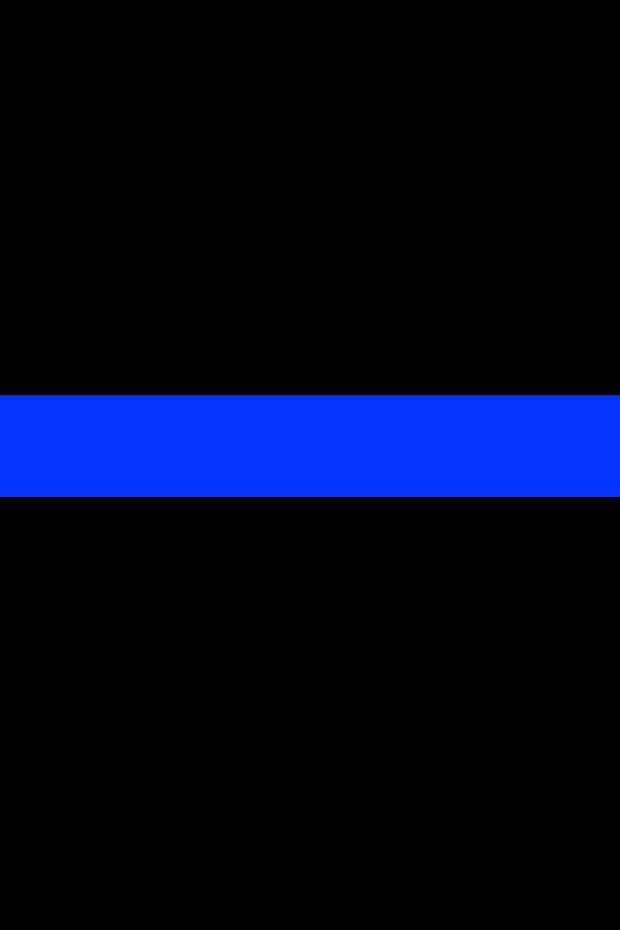 Download Thin Blue Line wallpapers to your cell phone - police