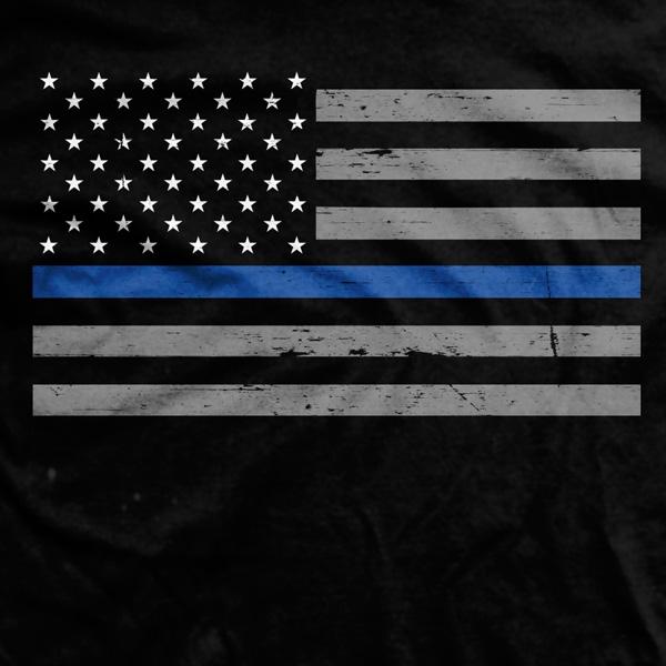 Thin Blue Line Flag Wallpaper - WallpaperSafari