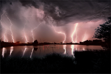 Thunderstorm - Forces of Nature & Nature Background Wallpapers on
