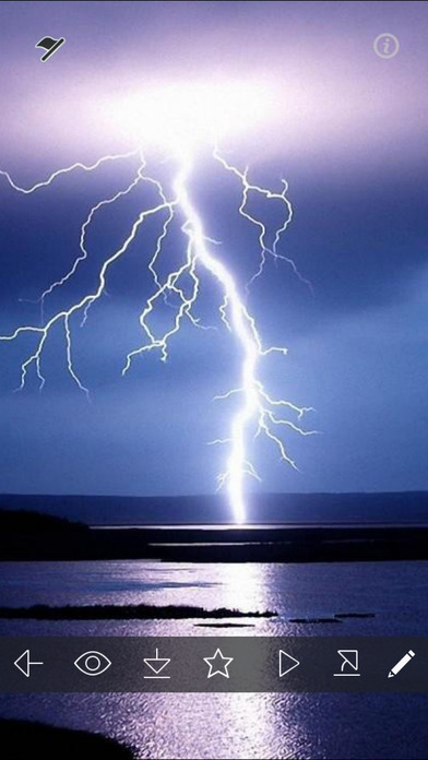 Thunderstorm Wallpapers & Backgrounds in HD Free on the App Store