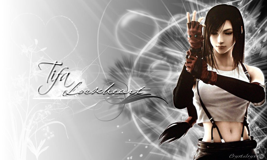 Tifa Lockhart Final Fantasy Artwork Hd Fantasy Girls 4k: Tifa Lockheart Wallpaper