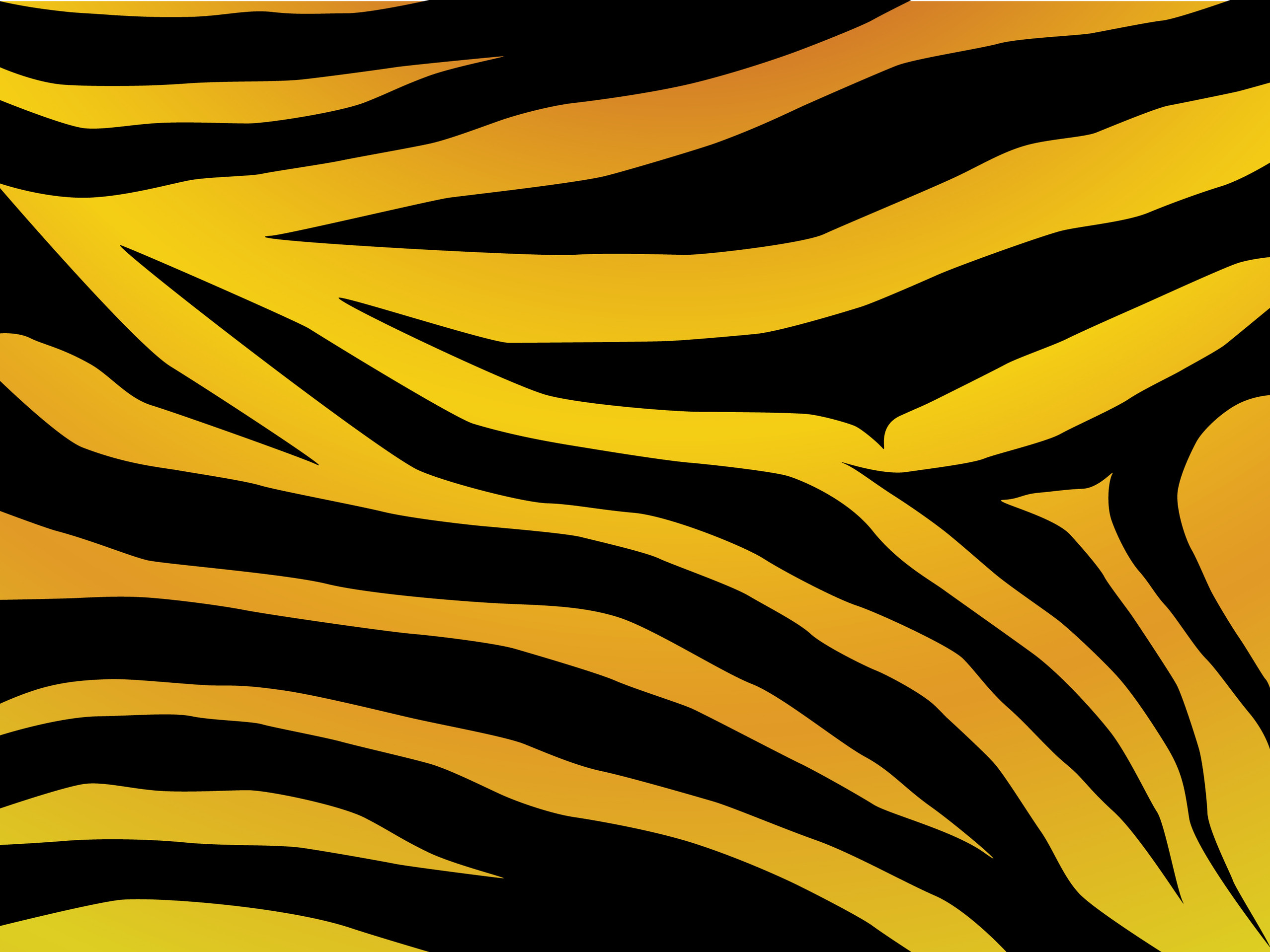 Tiger Print Wallpapers - WallpaperPulse